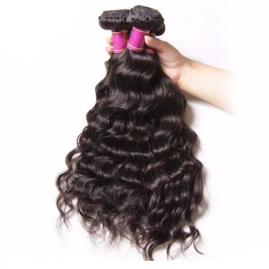 【Addcolo 10A】Hair Weave Indian Hair Natural Wave