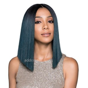 Prussian Blue Wigs Bob Straight & Wavy 2019 Summer Best Fashion Colorful Lace Front Wigs