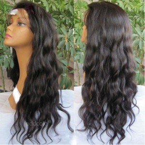 Silk Base Natural Hair Wigs With Baby Hair Natural Wave Glueless Human Hair Wigs