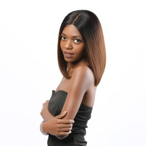 Rossy Virgin Hair Lace Front Wigs T1B/4