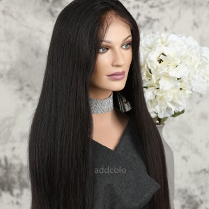 Silk Base Wigs Brazilian Hair Silky Straight Natural Hairline Best Human Hair Lace Front Wigs