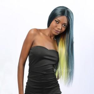 Tasha Remy Hair Lace Front Wigs Balayage