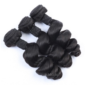 【Addcolo 10A】Hair Weave Indian Hair Loose Wave
