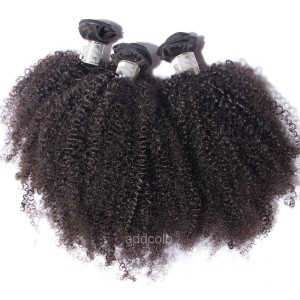 【Addcolo 8A】Hair Weave Indian Hair Afro Kinky Curly