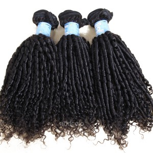 【Addcolo 8A】Hair Weave Bundle Natural Color Brazilian Romance Curly Hair