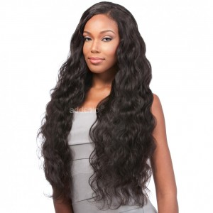 【Wigs】Lace Front Wigs Brazilian Hair Body Wave Wig Natural Color
