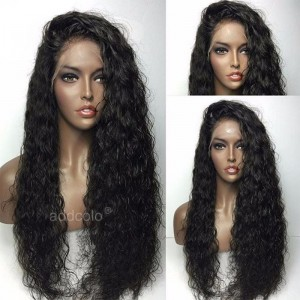 Human Hair Full Lace Wigs Natural Color Brazilian Hair Curly Eleven Wig