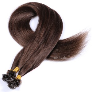 【Addcolo 10A】U Tip Hair Extensions Brazilian Hair Color #4