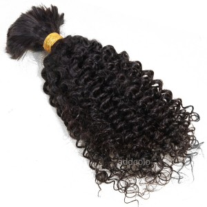 【Addcolo 8A】Bulk Human Hair for Braiding Brazilian Hair Kinky Curly