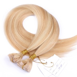 【Addcolo 10A】Tape In Hair Extensions Malaysian Hair #27/#613 Highlight Color