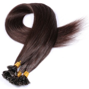 【Addcolo 10A】U Tip Hair Extensions Brazilian Hair Color #3
