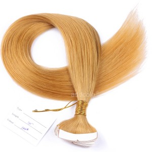 【Addcolo 10A】Tape In Hair Extensions Brazilian Hair Color #144