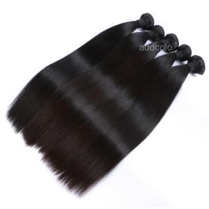 【Addcolo 10A】Hair Weave Indian Virgin Hair Silky Straight Hair Bundle