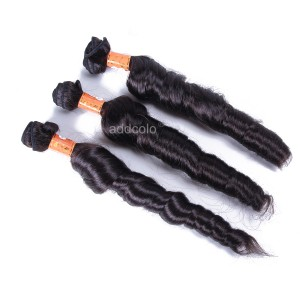 【Addcolo 8A】Hair Weave Bundles Indian Hair Romance Curly