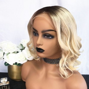 Deneen Remy Hair Lace Front Wigs T3/613