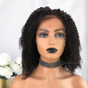 Kellyn Remy Hair Lace Front Wigs Natural Black