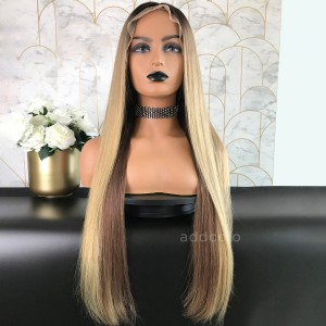 Laura Remy Hair Lace Front Wigs Balayage
