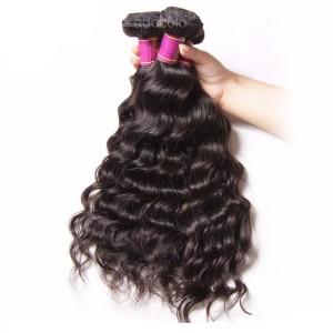 【Addcolo 8A】Hair Weave Brazilian Hair Natural Wave Hair Bundle