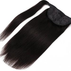 【Ponytail】Ponytail Brazilian Human Hair Straight&Wavy