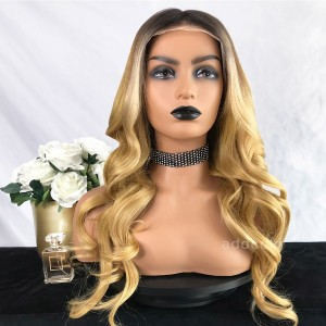 Renee Virgin Hair Full Lace Wigs Balayage