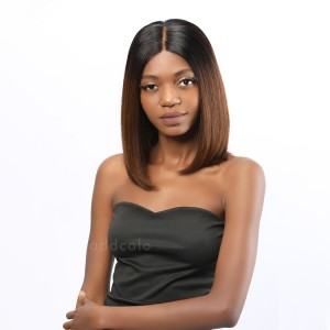 Rossy Remy Hair Lace Front Wigs T1B/4