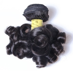 【Addcolo 8A】Hair Weave Bundle Natural Color Brazilian Bouncy Curly Hair