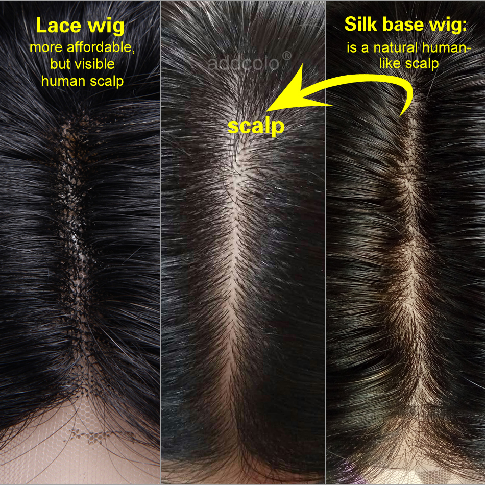 silk base wig vs lace wig